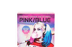 Two-Color Hair Dye Kits - Splat's Harley Quinn Hair Color Kit Includes Iconic Pink and Blue Shades