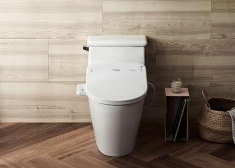 Sterilizing UV Toilets
