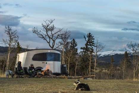 Modern Mini Camping Trailers