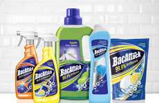 Concise Cleaning Product Branding - The 'BacAttack' Antibacterial Cleaning Products are Powerful