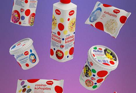 Bubbly Dairy Branding