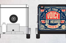 Mobile Voting Trailers - This Transporting Voter Ballot Booth Takes Its Design From Food Trucks
