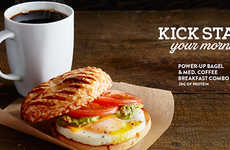 Energizing Breakfast Pairings - Coffee Culture's Breakfast Coffee Combines Protein and Caffeine