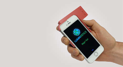 Smartphone STI Tests - Luminostics Enables At-Home STD Testing Using a Smartphone Attachment
