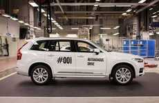 Autonomous Vehicle Pilot Projects - The Volvo 'Drive Me' Self-Driving Project is Family-Focused