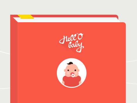 Snapchat-Inspired Baby Albums - This Album App Stores and Tracks Visual Documentation of Families
