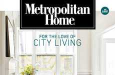 Millennial-Targeted Decor Magazines - Metropolitan Home Magazine Has Been Reinvented for Millennials