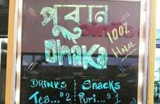 Bangladeshi Street Food Trucks - The Puran Dhaka Food Truck Offers Classic Bengali Food & Beverages