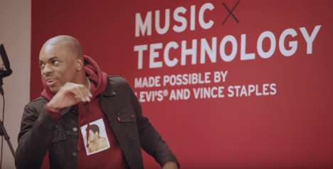 Rapper-Developed Educational Programs - Vince Staples Joined with Levi's for the 'Music Project'