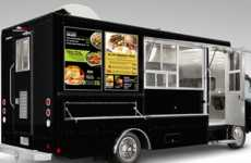 Digital Food Truck Displays - These Digital Displays Were Created to Decorate Food Trucks