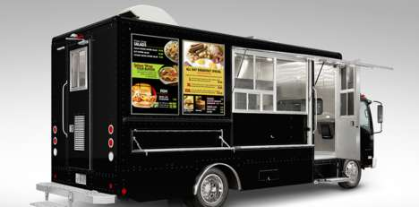 Digital Food Truck Displays