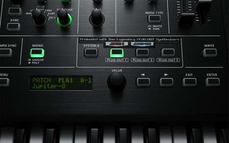 Dynamic Smart Synthesizers - The System-8 Plug-Out Synthesizer Uses Smart Music Technologies