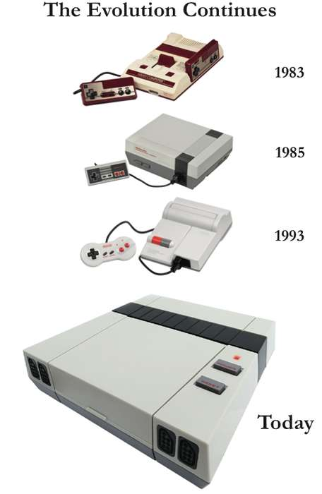 Retro-Fitted Gaming Consoles