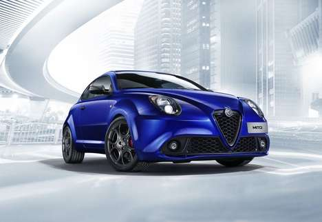 Peppy Urban Sport Sedans - The New Alfa Romeo Mito Features a Number of Upgrades