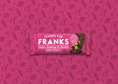 Travel-Inspired Granola Branding