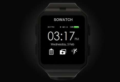 Autonomous Smartwatch Designs