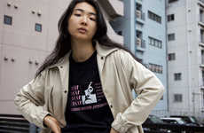Tokyo-Centered Streetwear Lookbooks - Grind London's Collection Honors its International Inspiration