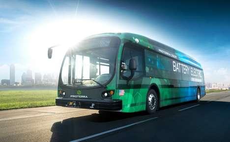 Trailblazing Electric Buses