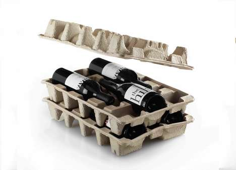 Eco-Friendly Wine Packaging - 'WinePacks' Bottle Boxes Ensure Wine is Delivered Cost-Effectively