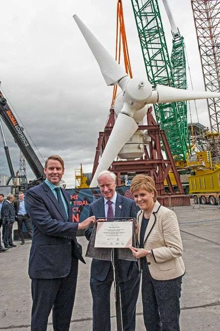 Tidal Turbine Developments