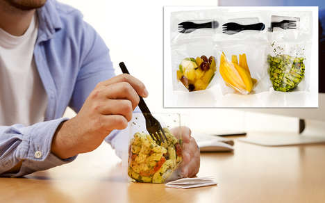 Portable Food Pouches - Excelsior Created a Line of On-The-Go Pouches for Portable Meals