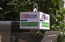 Internet-Connected Mailboxes - B2C Europe and Parcer's Brand Partnership Tests Drone Deliveries