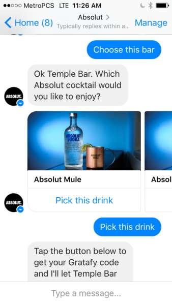 Cocktail-Sharing Chatbots