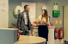 Humorous Office Vacation Ads - Virgin Atlantic Prompts Viewers to Get Away from Work During Holidays
