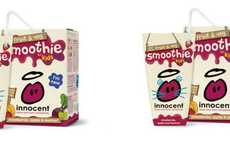 Smoothie Juice Boxes - Innocent Drinks Packages Kid Veggie Fruit Smoothies in Convenient Cartons