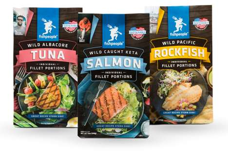Individually Frozen Fillets - Fishpeople's Single-Serve Fish Fillets Make Portion-Controlled Meals