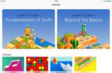 Interactive Code-Teaching Apps - The Apple Swift Playground App for iPad Expands User Capabilities