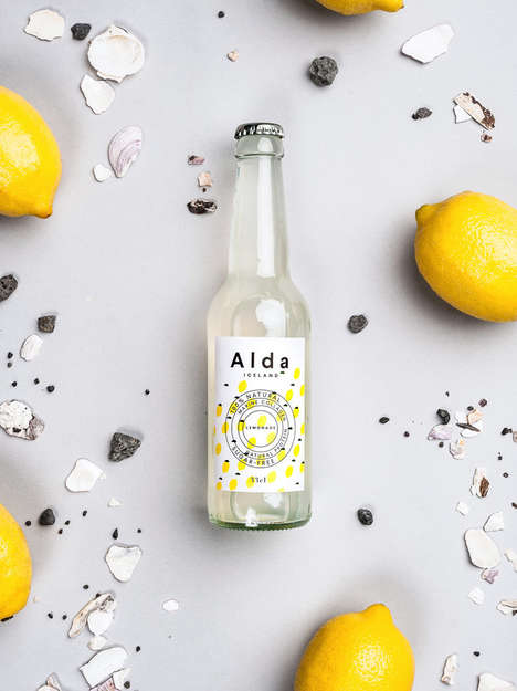 Eco-Friendly Lemonades - These Refreshing Drinks are Made from Icelandic Spring Water