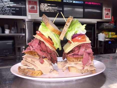 Meaty Fashion Week Sandwiches