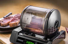 Meal-Marinating Appliances - The Chef's Elite 15-Minute Meat and Vegetable Marinator Seals in Flavor