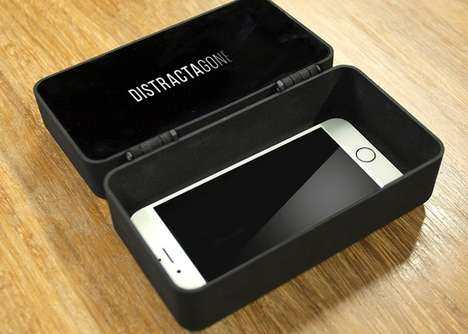 Distraction-Deterring Smartphone Boxes