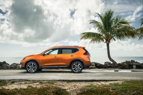 Refreshed Family SUVs - The New Nissan Rogue Makes Picking Up the Kids From School a Stylish Affair