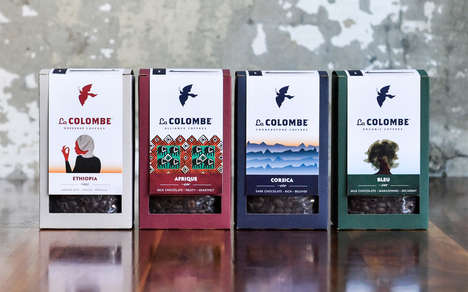 Strong Eco Coffee Packaging