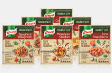 Free-From Prepackaged Spices - The New Knorr Naturally Tasty Dry Recipe Mixes are Easy to Use