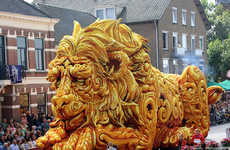 Fantastical Flower Floats - This Flower Festival in the Netherlands Featured New Stunning Sculptures