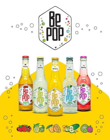Natural Artisanal Soda Branding