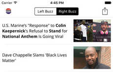 Bias-Recognizing News Apps - 'Contempo' Recognizes and Sorts Political Biases in News Stories