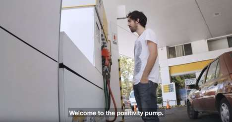 Online Positivity Campaigns - 'Fueling Possibilities' Gives Free Gas for Positive Social Media