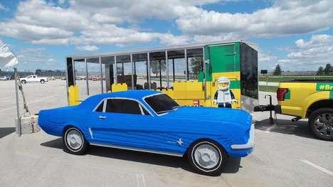 LEGO Car Replicas