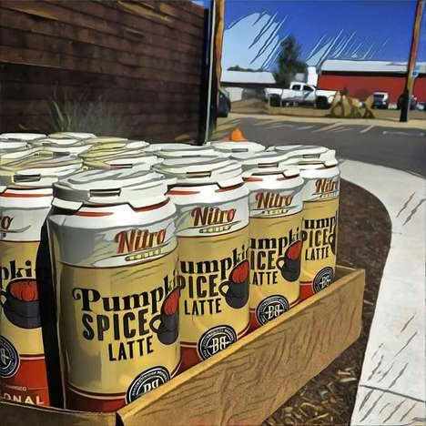 Pumpkin Spice Nitro Brews