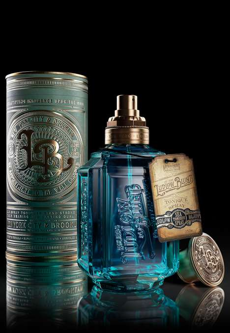 Apothecary-Inspired Cosmetics Bottles