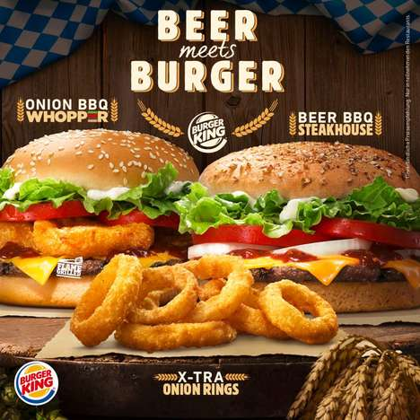 Boozy Burger Menus