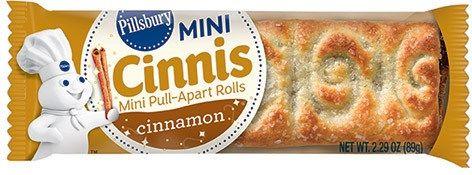 Bite Sized Cinnamon Buns Mini Cinnis