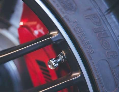 Luxury Vehicle Tire Accessories