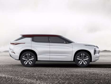 Hybrid Optimized SUVs - This Next-Generation SUV Offers Expansive Range and Dynamic Steering