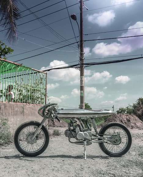 Sleek Custom Motorbikes